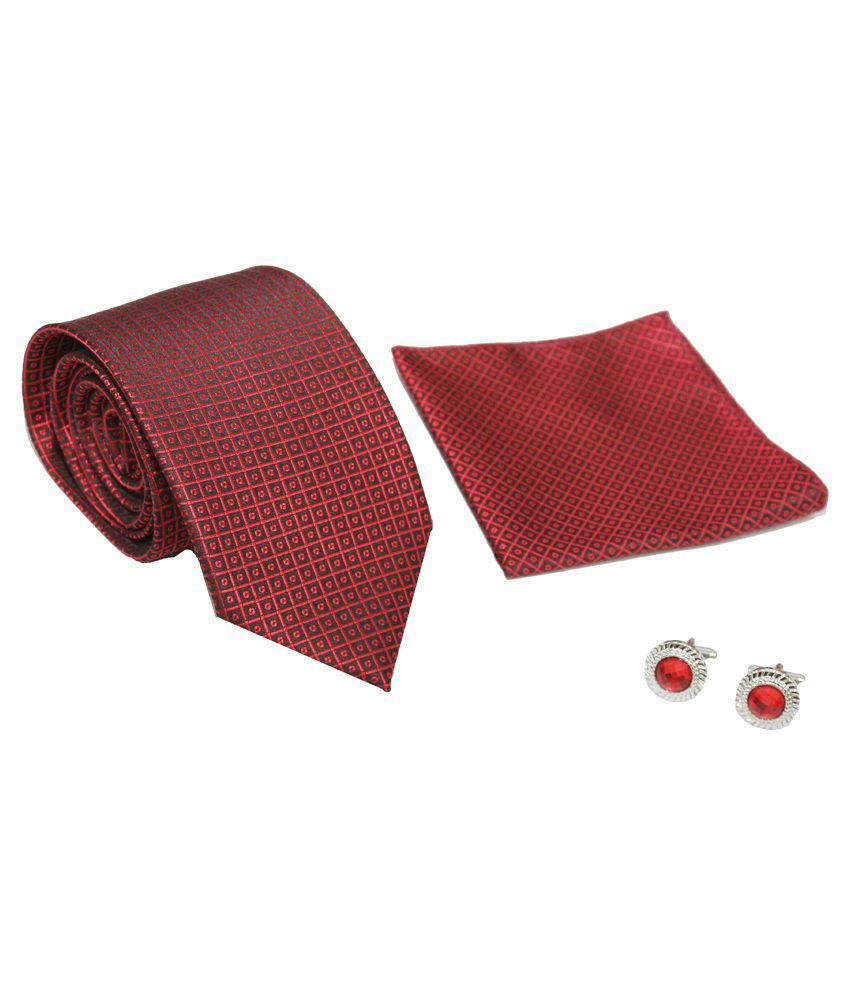 Classique Men's Premium Tie Gift Set With Free Diwali Special Set of 2 Double Walled Diya