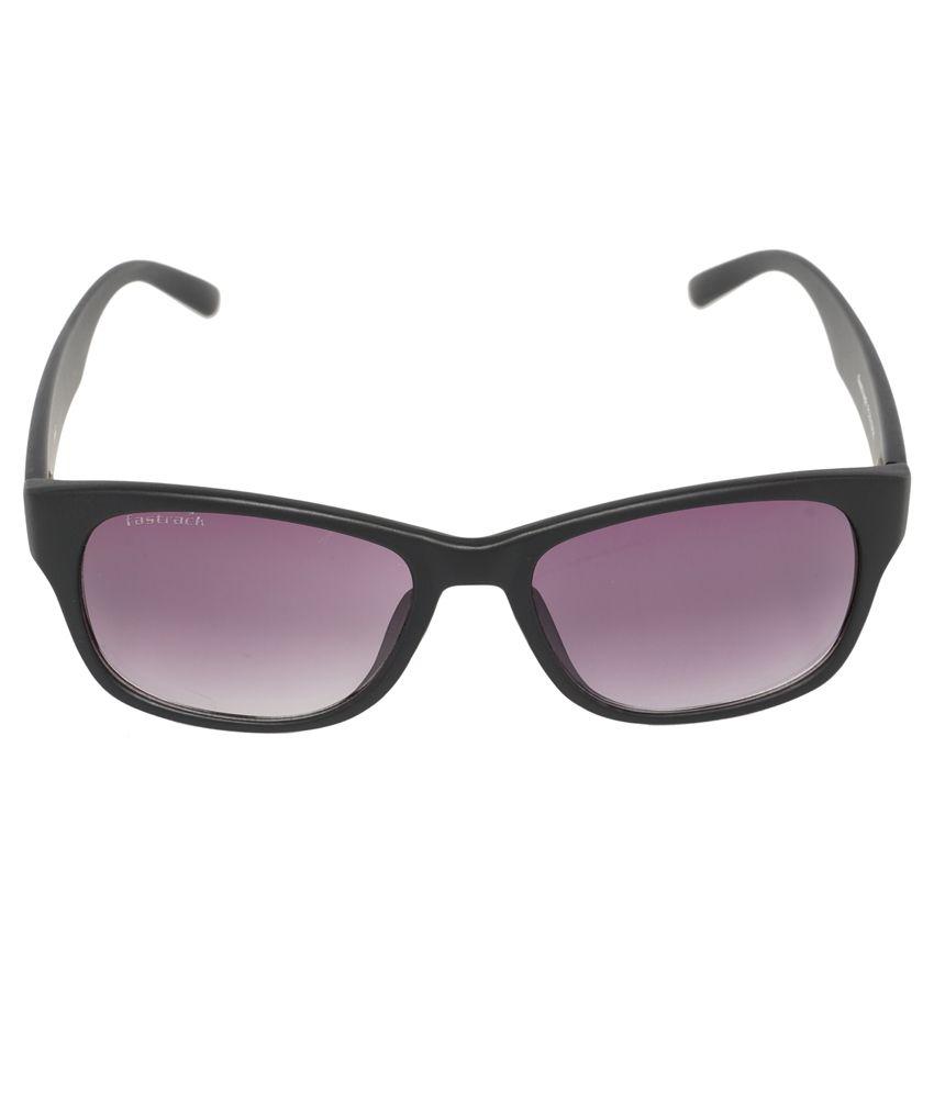 Fastrack Black Wayfarer Sunglasses  fastrack pc001bk20 black wayfarer sunglasses fastrack