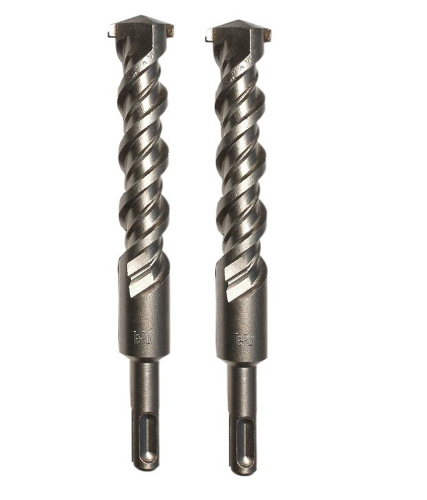 Te-Rux SDSP18460-2 SDS Plus Hammer Drill Bit (18 x 460, Set Of 2)