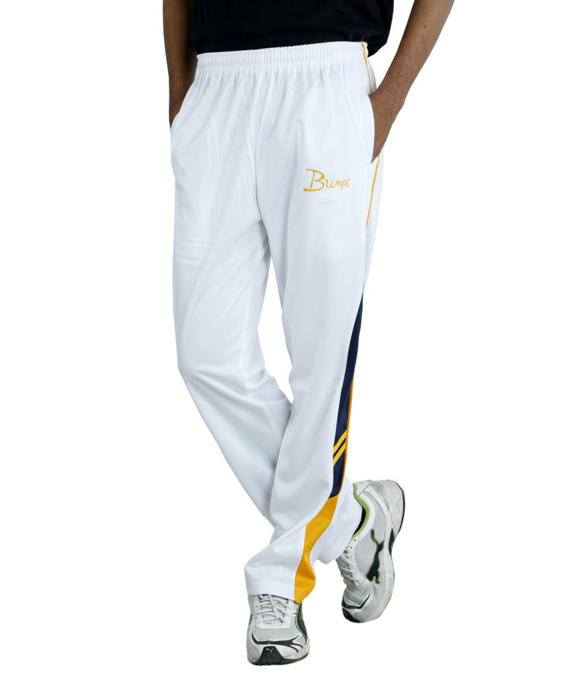 Fast Look White Trackpant