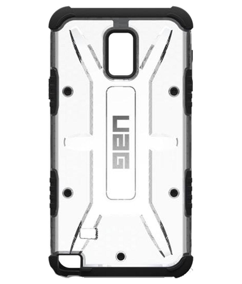 timeless design 9eae5 be1b1 UAG Back Cover for Samsung Galaxy Note 4 - Silver - Plain Back ...