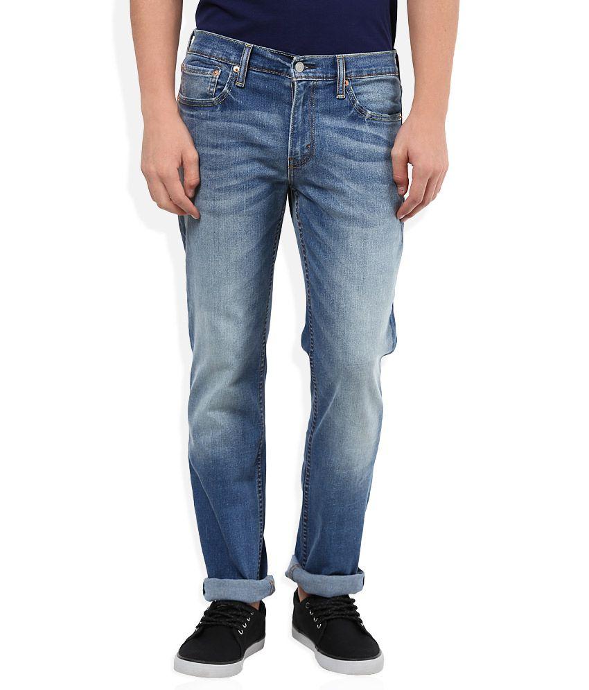 Levi's Blue Slim Fit Jeans 511