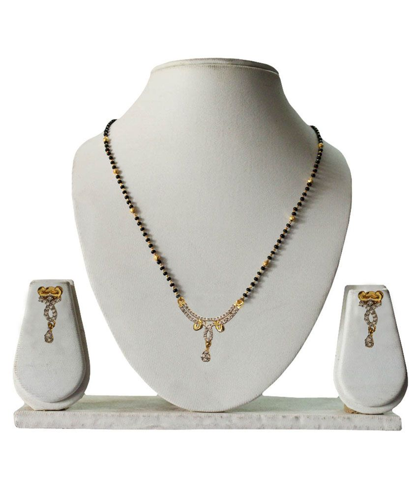 Pihu Two Tone Mangalsutra set