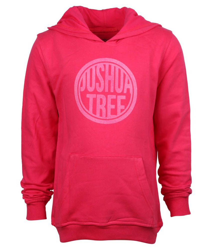 Joshua Tree Red Cotton Sweatshirt
