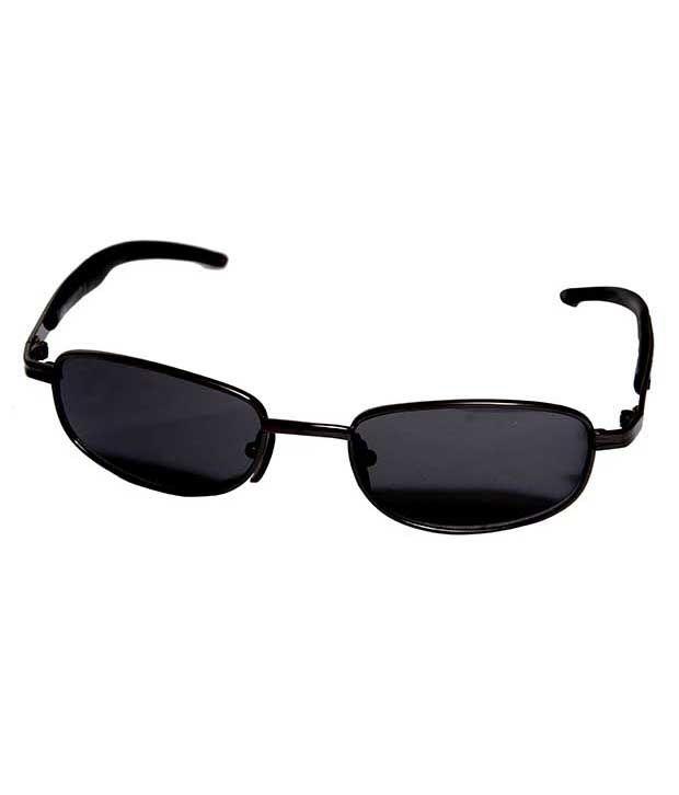 Eye Candy Ec-2240-rc224 Black Rectangle Sunglass