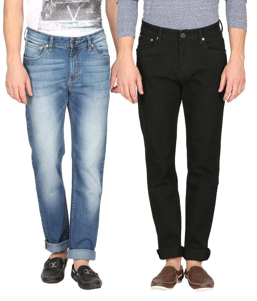 Levi's Multicolour Slim Fit Jeans - Pack Of 2