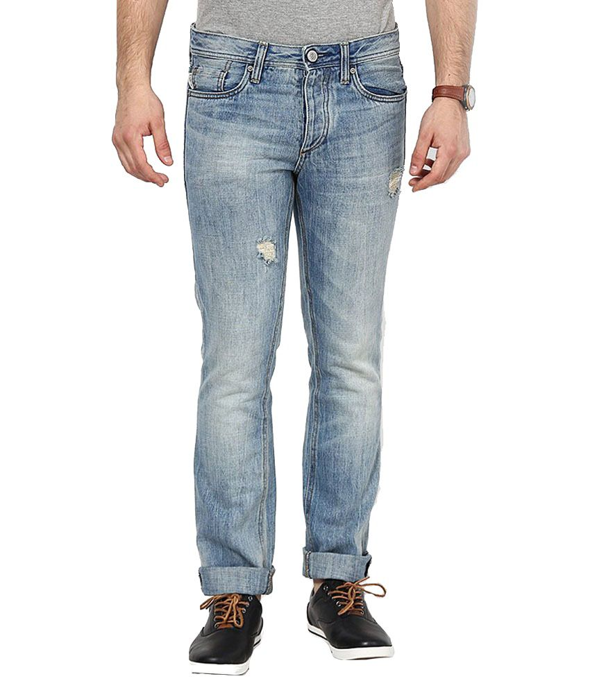 Noizee Blue Slim Fit Jeans