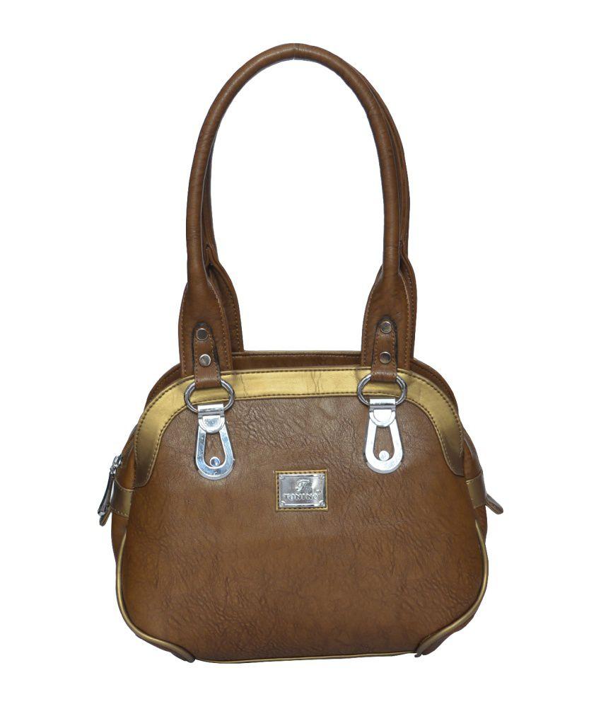 Tonino Leathers Khaki Shoulder Bag