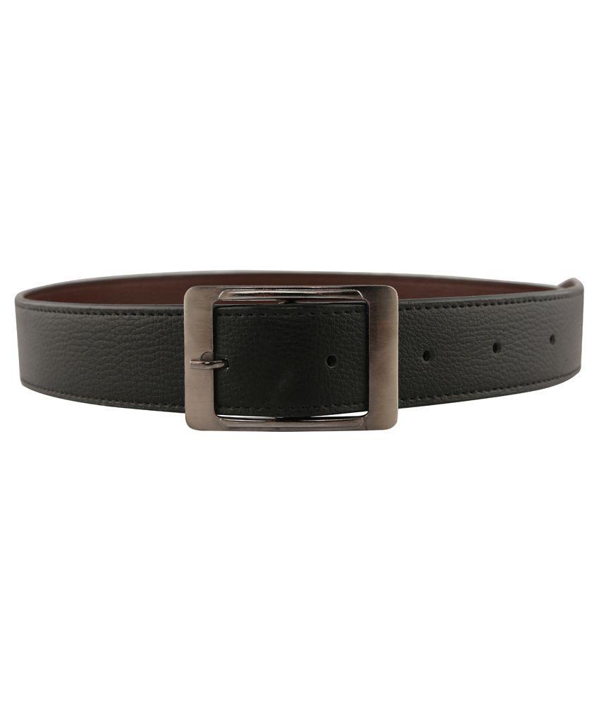 Aleron Black Formal Belt