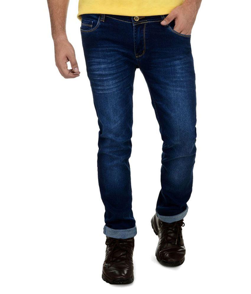Benmartin Blue Skinny Fit Jeans