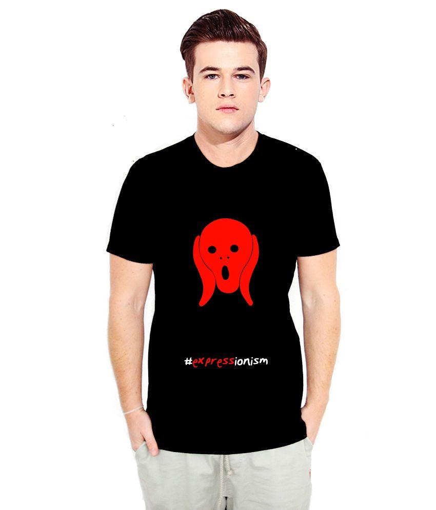 Nodilemma Black Cotton T Shirt