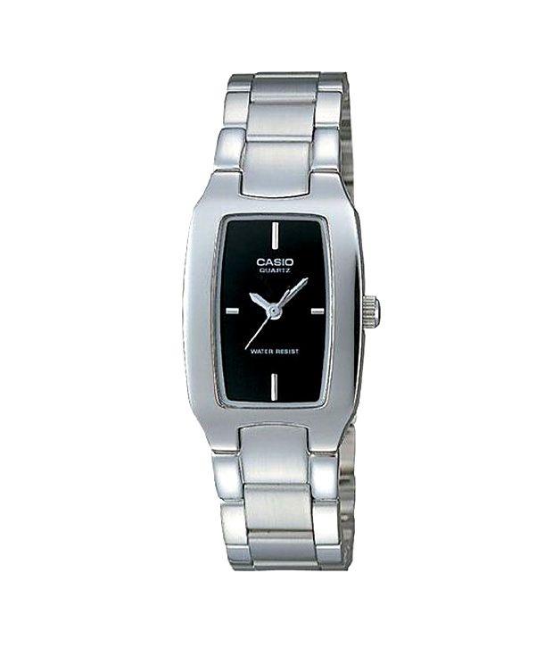 59a43cdb8b5 Casio Classic Analog LTP-1165A-1CDF (SH18) Women s Watch Price in India   Buy Casio Classic Analog LTP-1165A-1CDF (SH18) Women s Watch Online at  Snapdeal