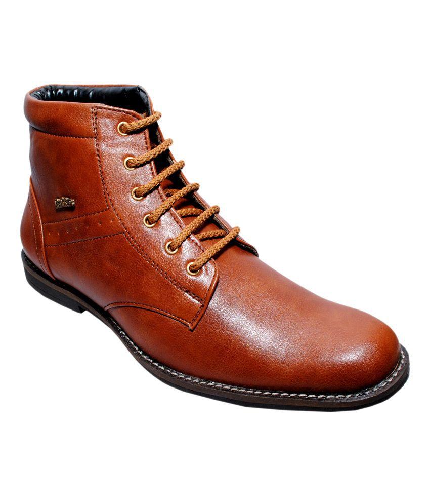 K.Decent Tan Boots