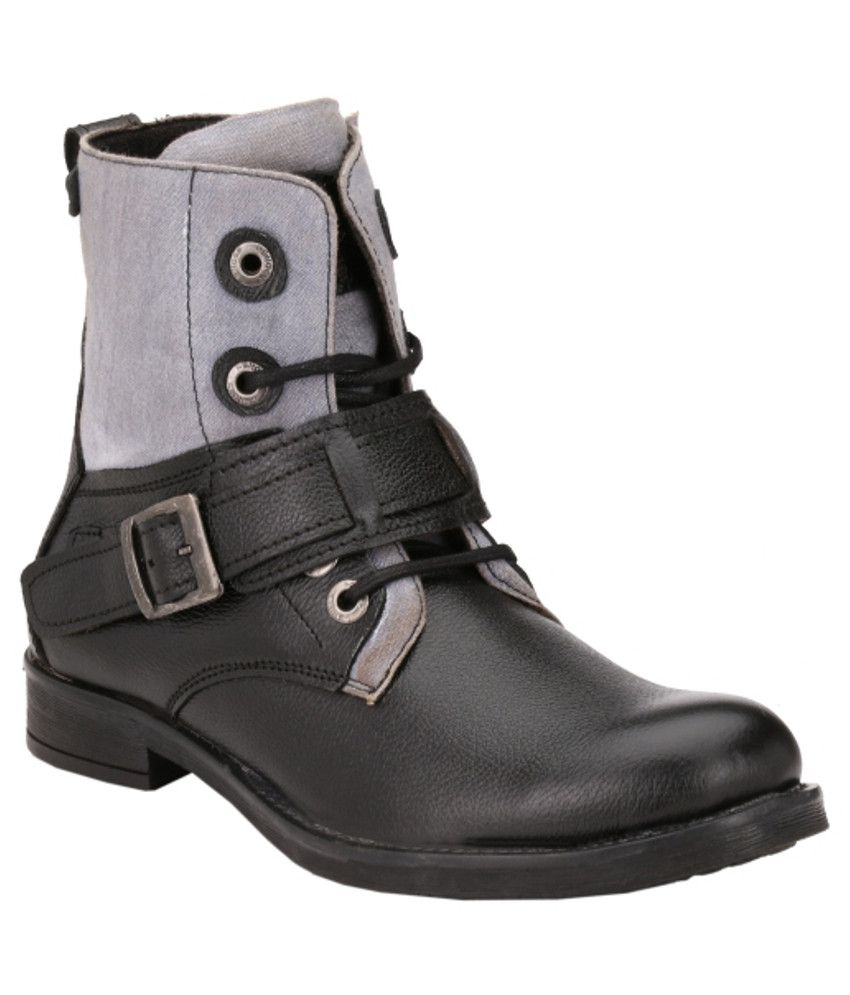 Ishoes Strong Black Boots