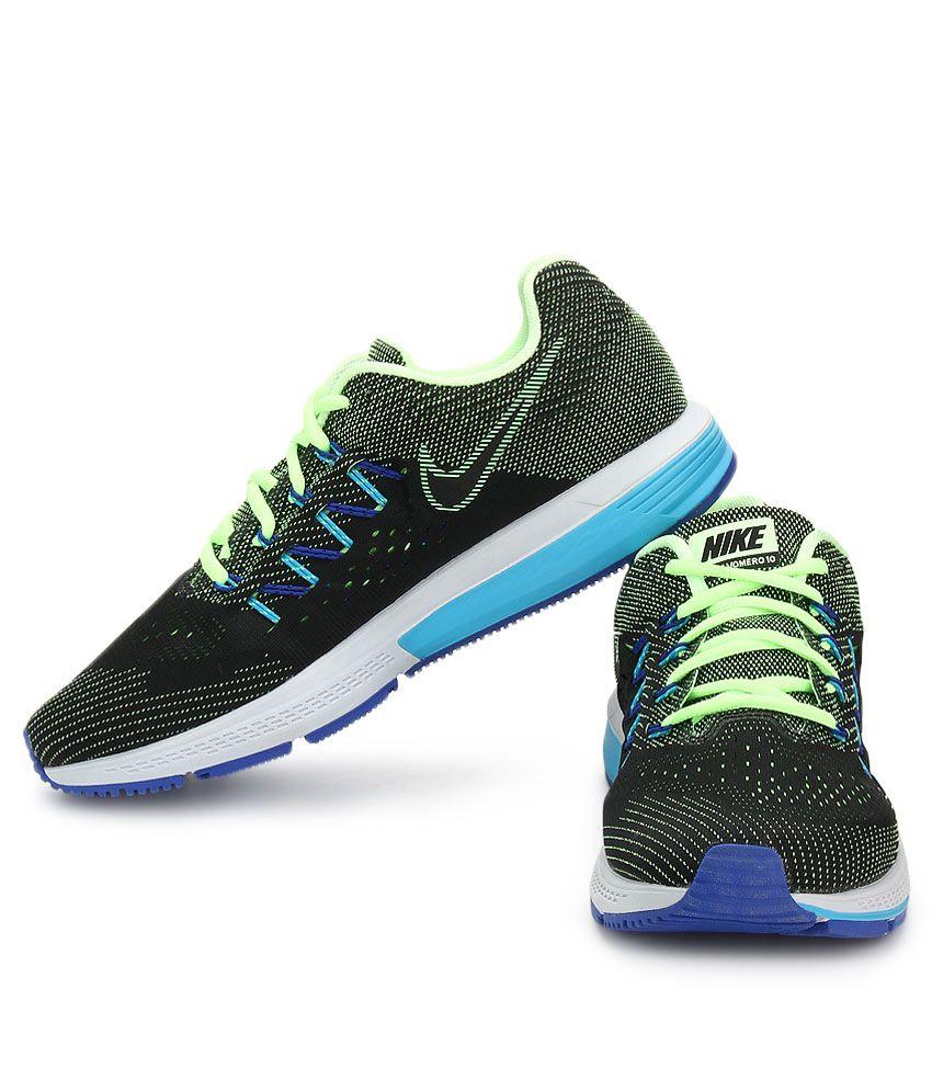 f67185b4e46 Nike Air Zoom Vomero 10 Black Sport Shoes - Buy Nike Air Zoom Vomero ...