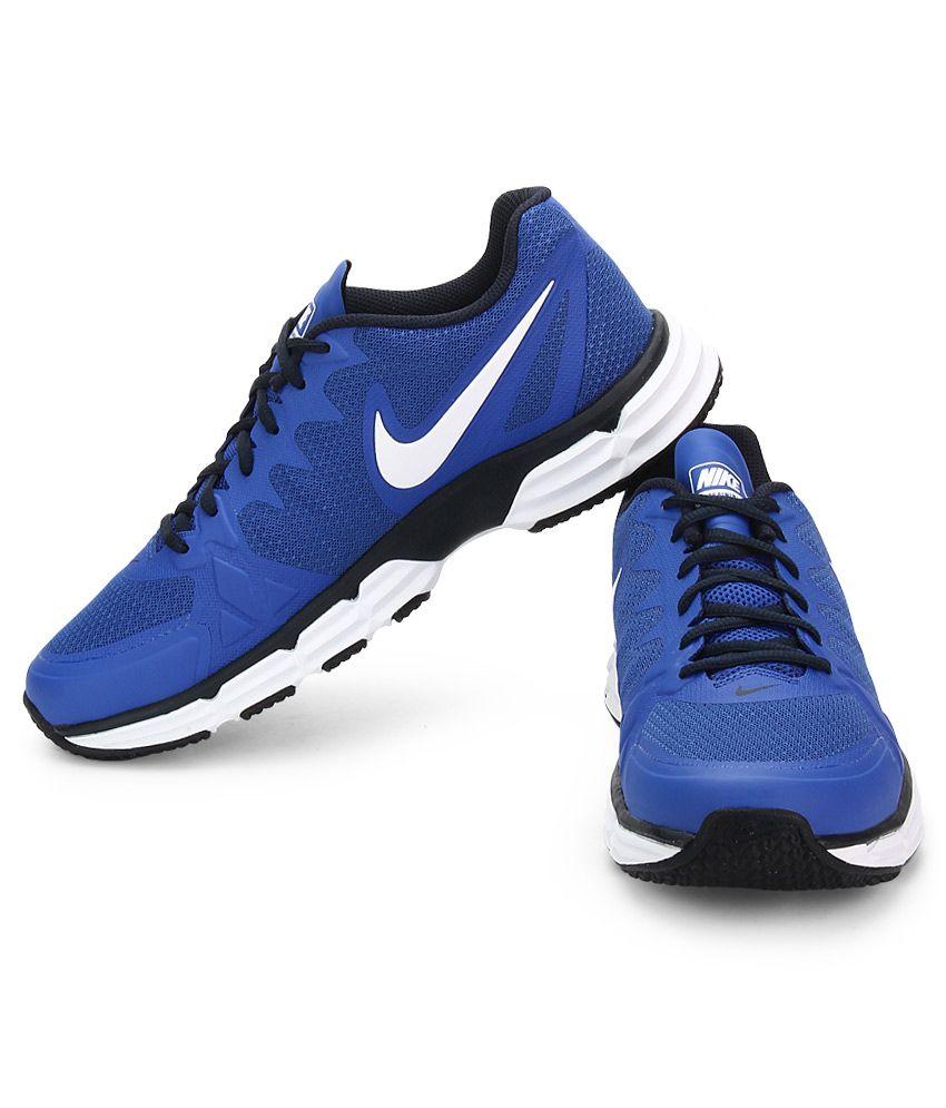 the best attitude 208dc 09b83 ... Nike Dual Fusion Tr 6 Blue Sport Shoes ...
