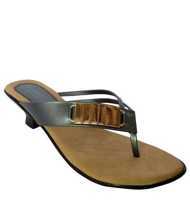 Glameous Black Heels
