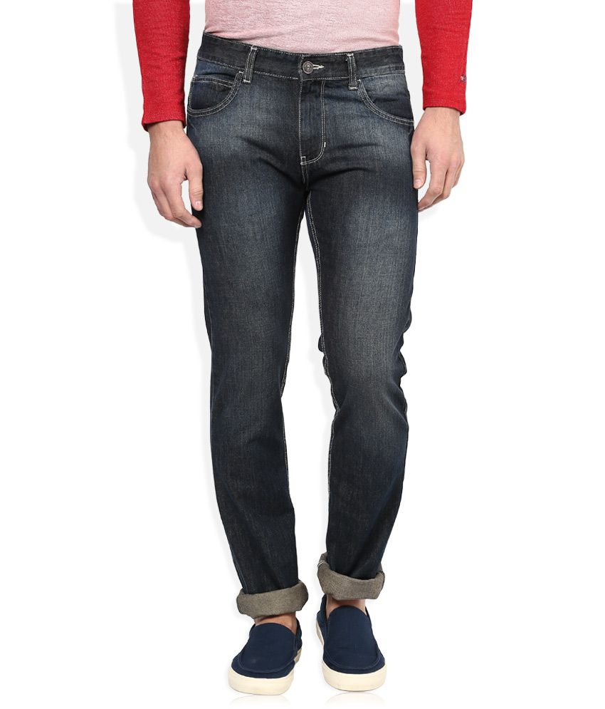 Newport Grey Slim Fit Jeans