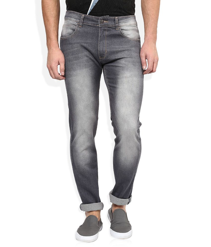 Newport Grey Slim Fit Jeans