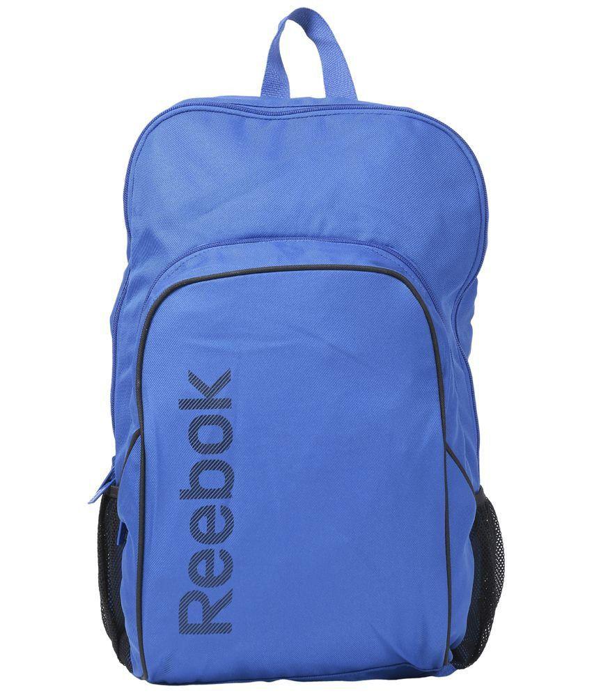 Reebok Blue   Black Unisex Backpack - Buy Reebok Blue   Black Unisex  Backpack Online at Low Price - Snapdeal 0e680f0cd23e6