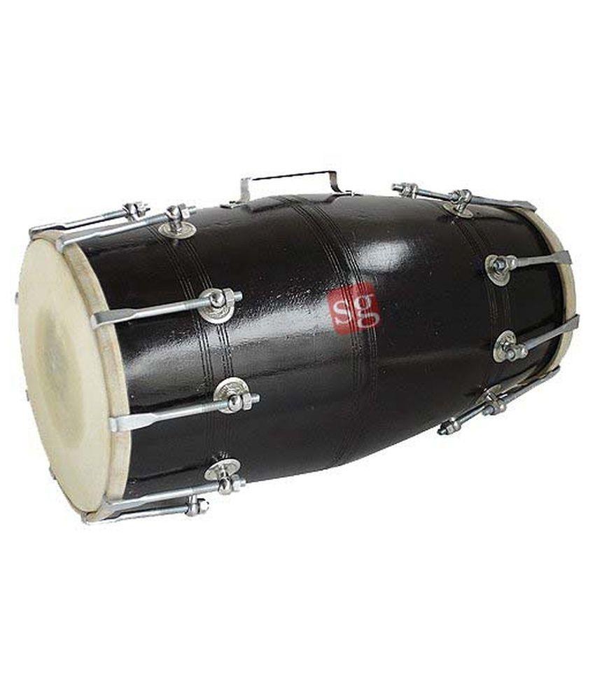 Sg Musical Black Dholak
