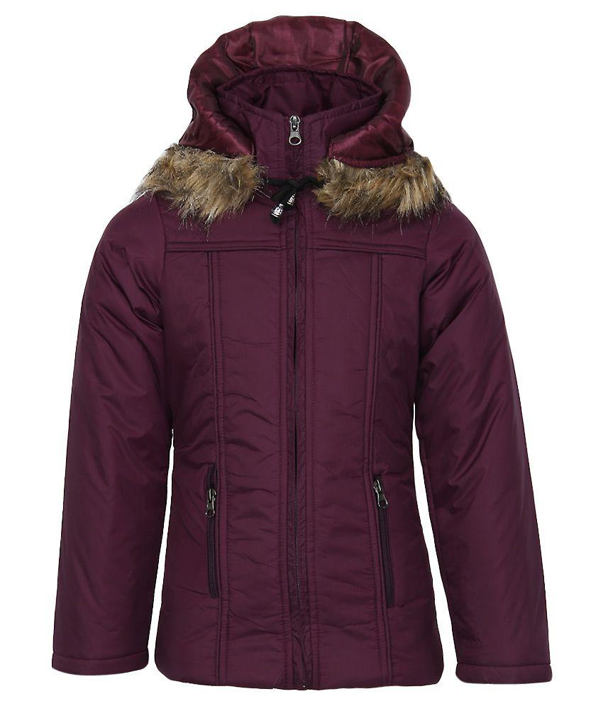 Fort Collins Purple Nylon Hooded Jacket