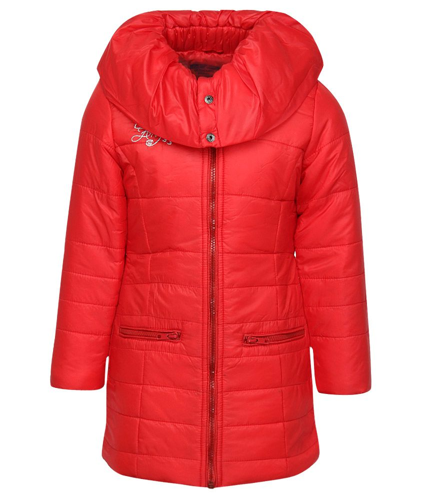 Fort Collins Red Nylon Jacket