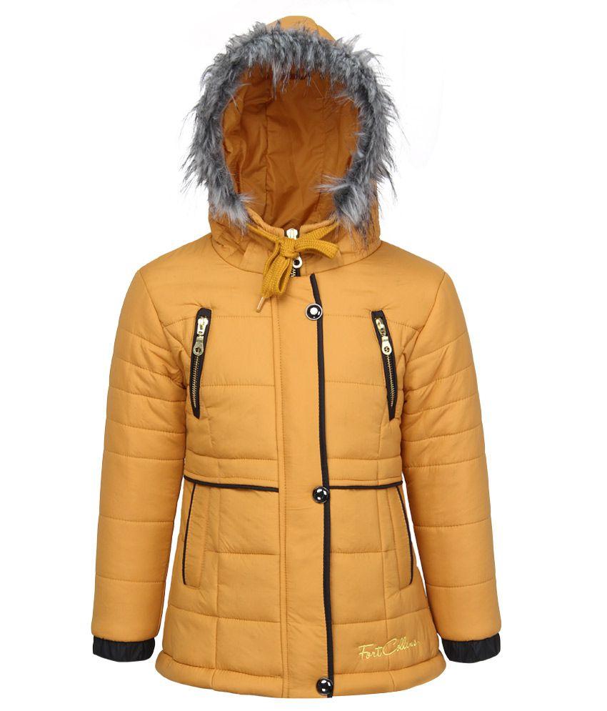 Fort Collins Golden Nylon Hooded Jacket