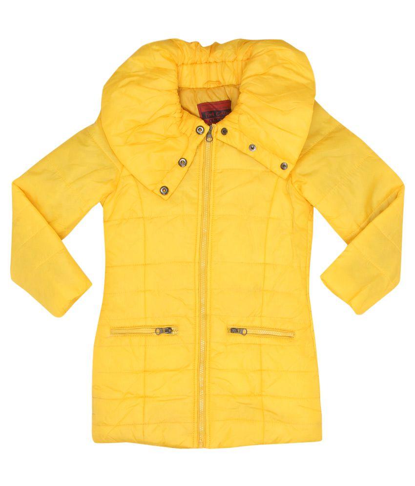 Fort Collins Yellow Nylon Jacket