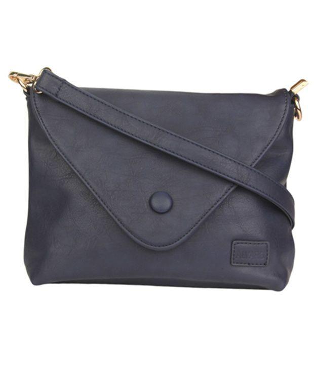 Alvaro Castagnino Gray Sling Bag
