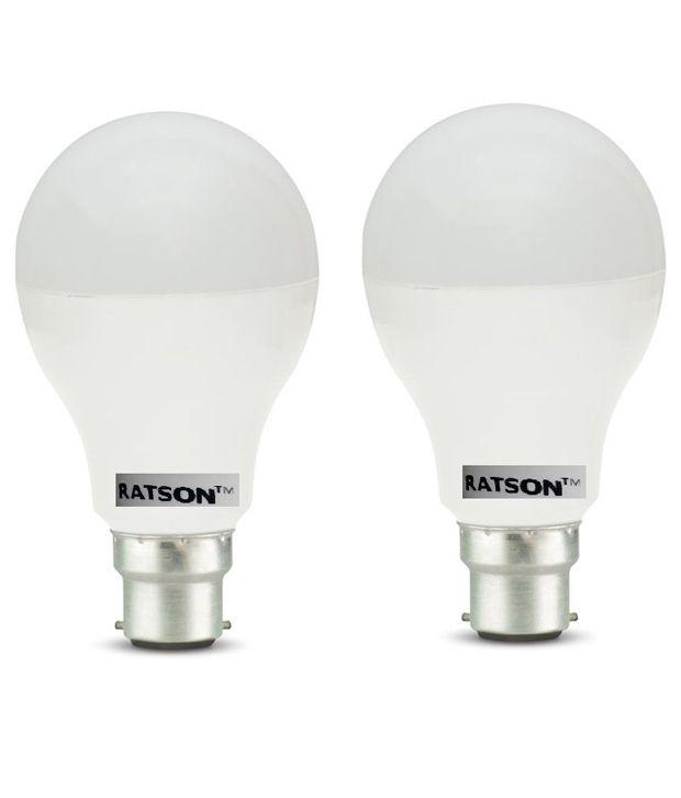 Ratson White 7w Led Bulb - Set Of 2