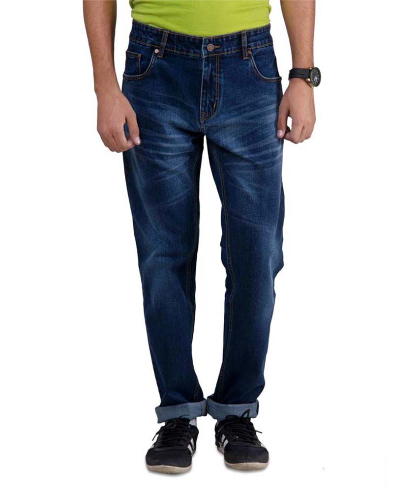 Slash Navy Slim Fit Jeans