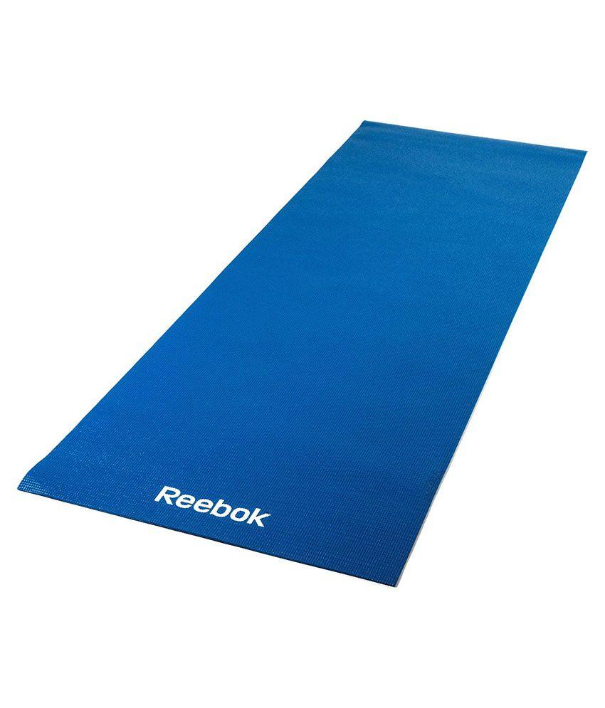 Reebok RAYG-11022BL Fitness Yoga Mat: Buy Online At Best