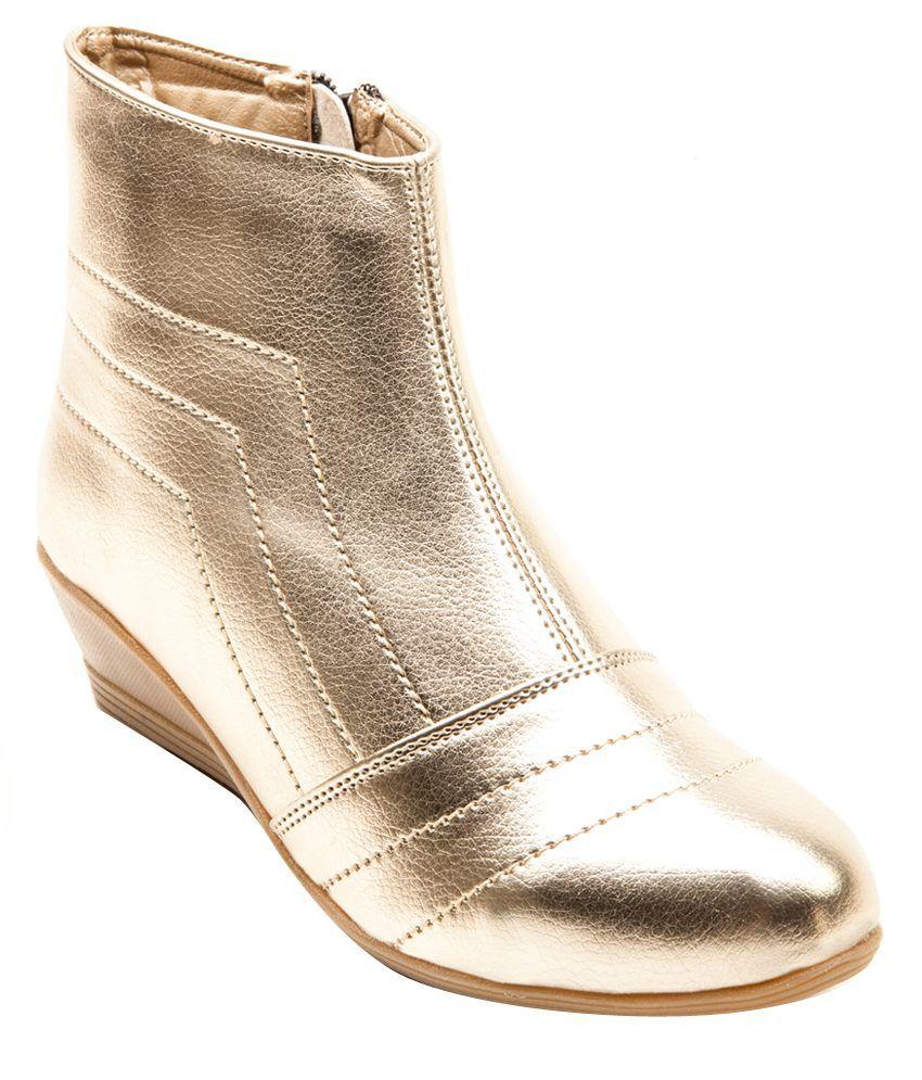 Marc Loire Elemental Seduction Golden Boots