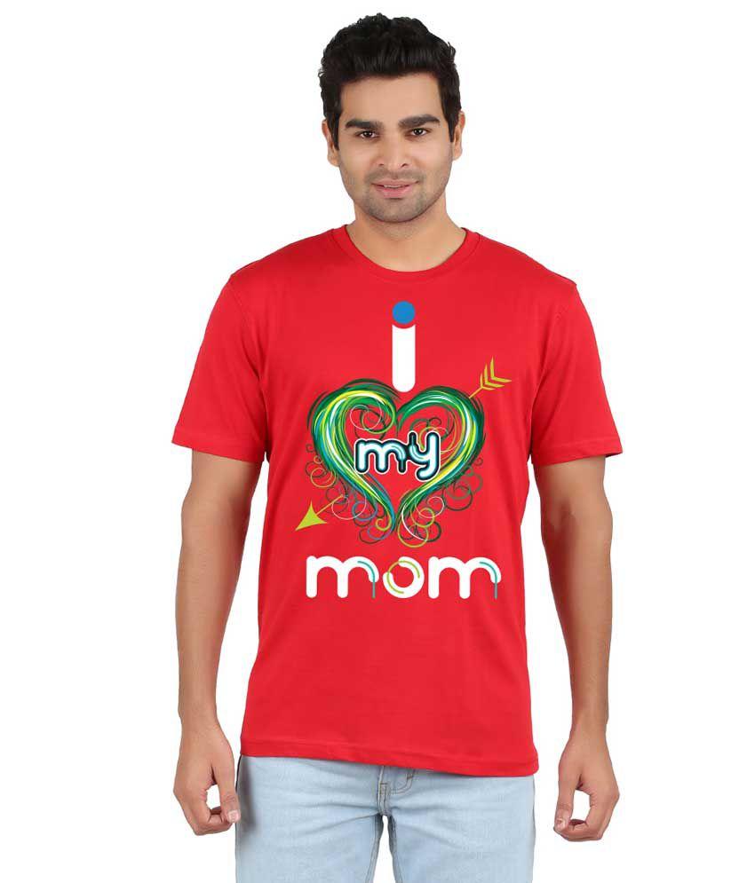 RVB Red Cotton T-Shirt