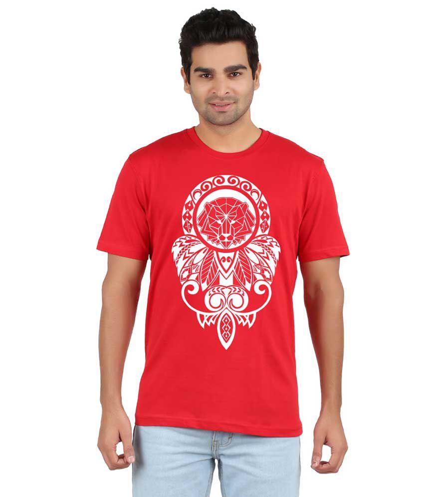 RVB White Cotton T-Shirt