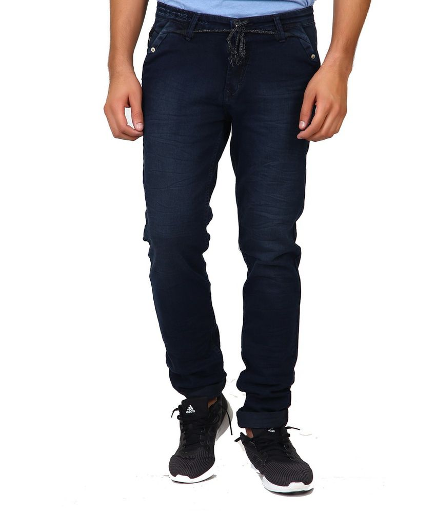 Greybooze Black Slim Fit Jeans