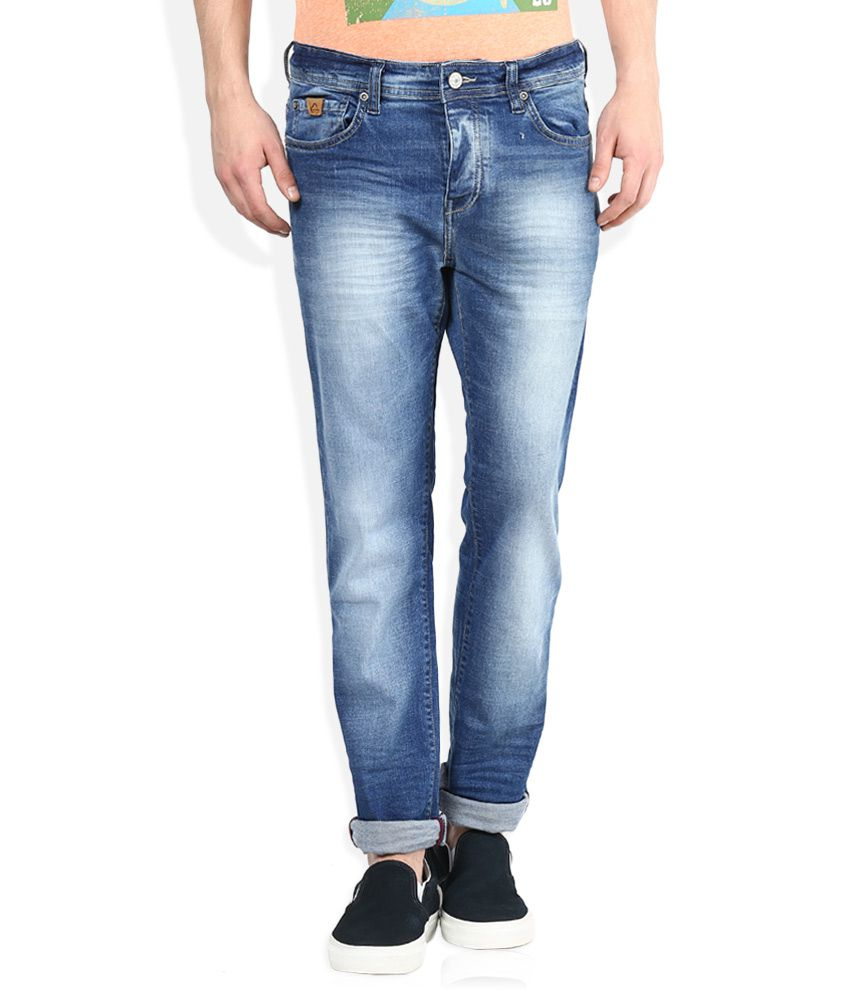 Being Human Blue Slim Fit Jeans