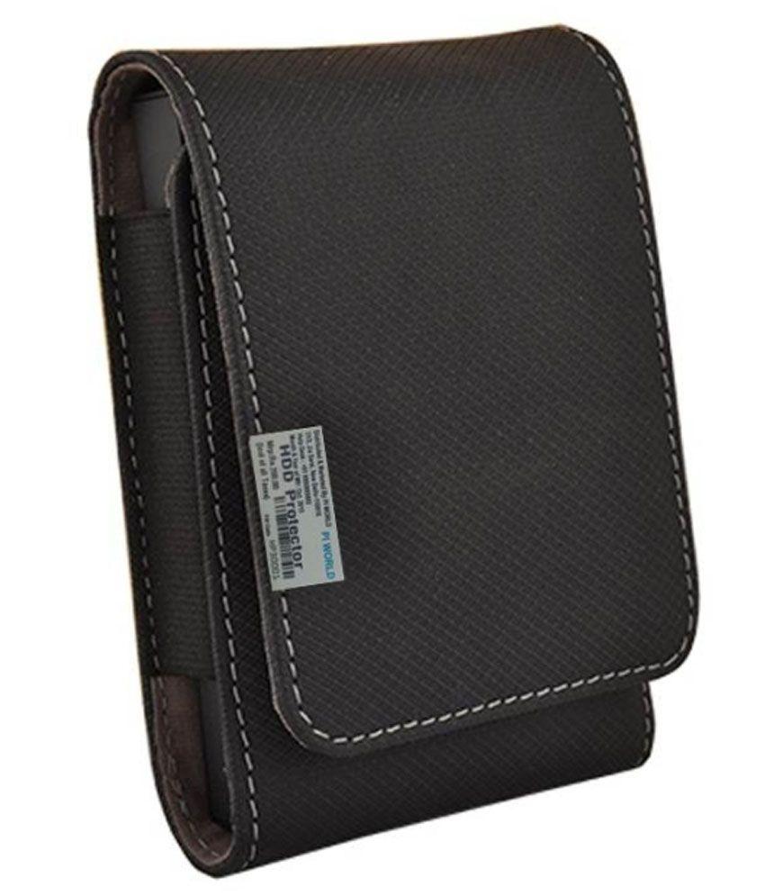 Pi World Hard Disk Wallet For Wd Passport Ultra 1 TB external Hard Drive - Black