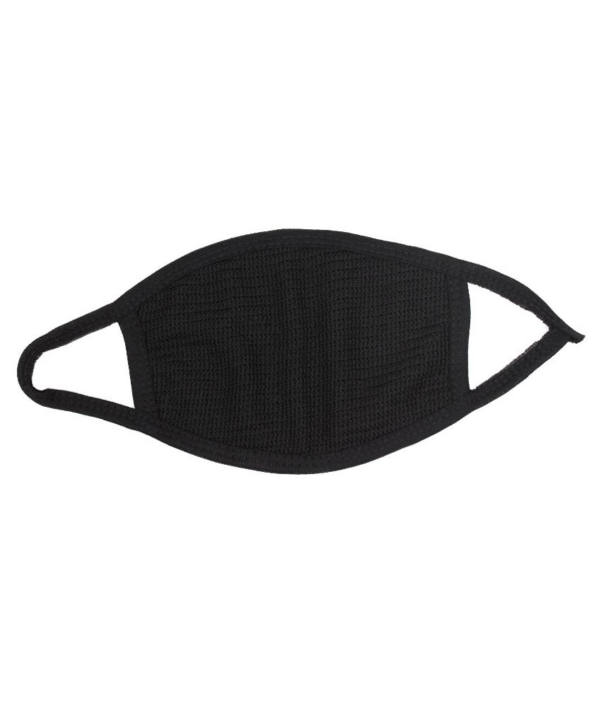 11d4fe6006 Sahas Black Cotton Face Mask Set Of 3: Buy Sahas Black Cotton Face Mask Set  Of 3 Online at Low Price in India on Snapdeal