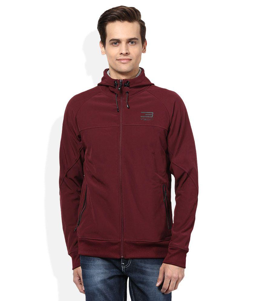 Jack & Jones Brown Hooded Sweatshirt