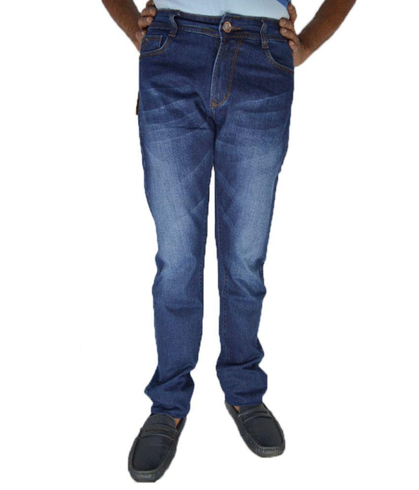 FBM Blue Regular Fit Jeans