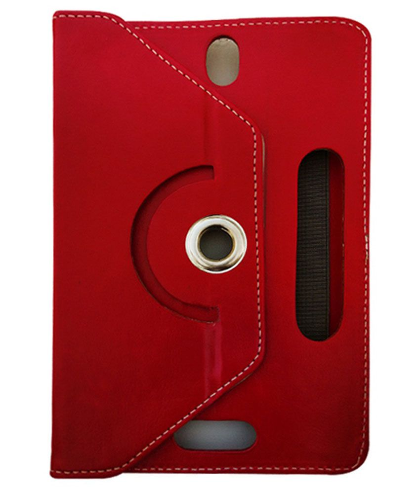 Fastway Flip Cover For Iberry Auxus AX03G - Red