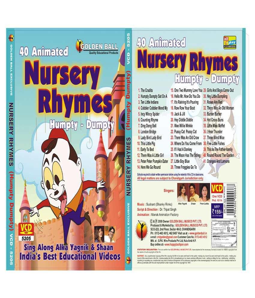 Golden Ball Nursery Rhymes Humpty