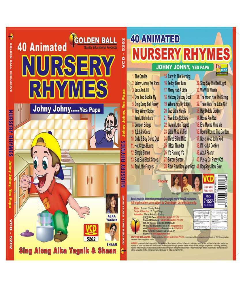 Golden Ball Nursery Rhymes Johny