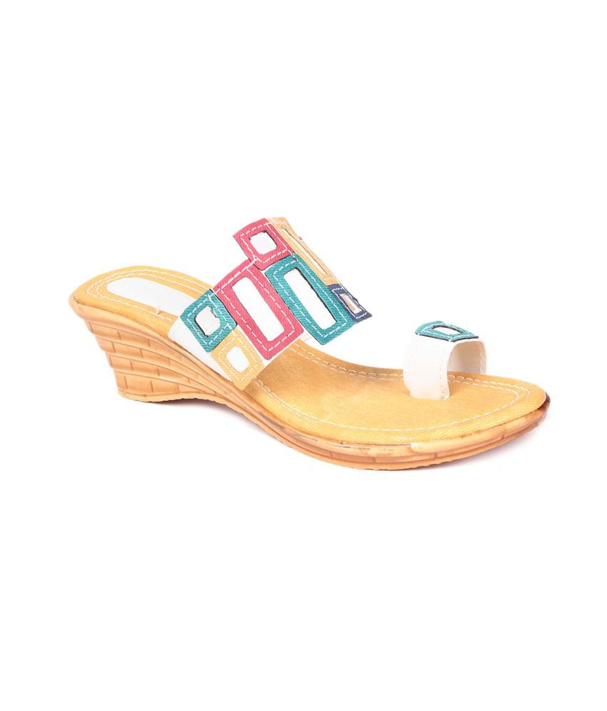 Jenis Multicolour Wedges Heels