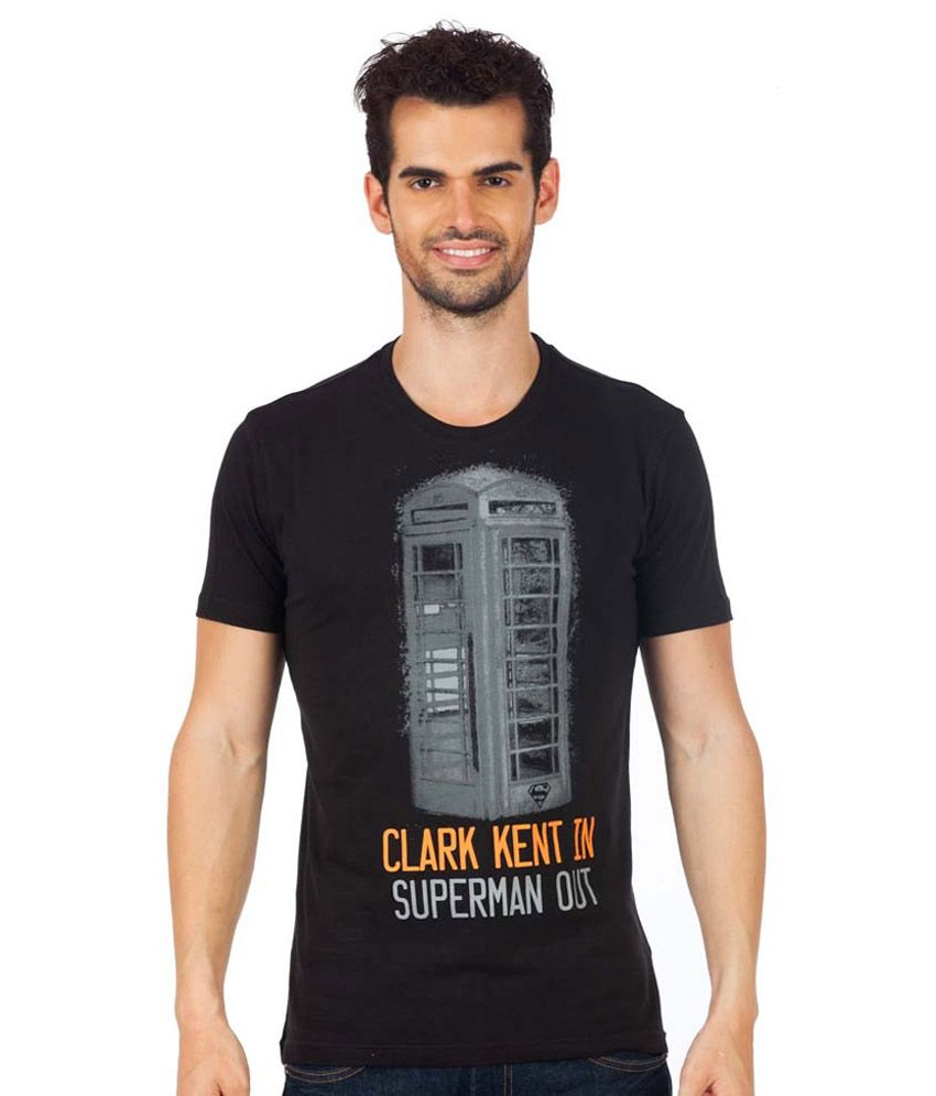 Planet Superheroes Superman Calling T Shirt