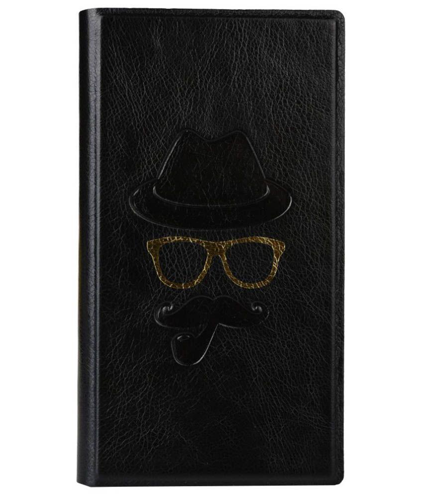 Jo Jo Flip Cover For Spice Mobiles Lite Xlife 512 - Black