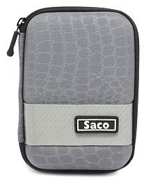 Saco External Hardisk Hard Cover For Seagate 2 TB Back Up Plus Portable 2.5  Hard Drive - Grey