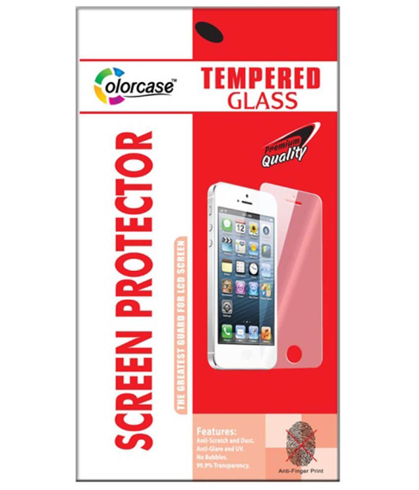 Micromax Canvas Pace 4G Tempered Glass Screen Guard by Colorcase